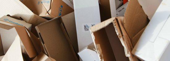 bilde av mange pappesker